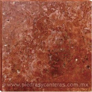 Marmol Travertino Rojo