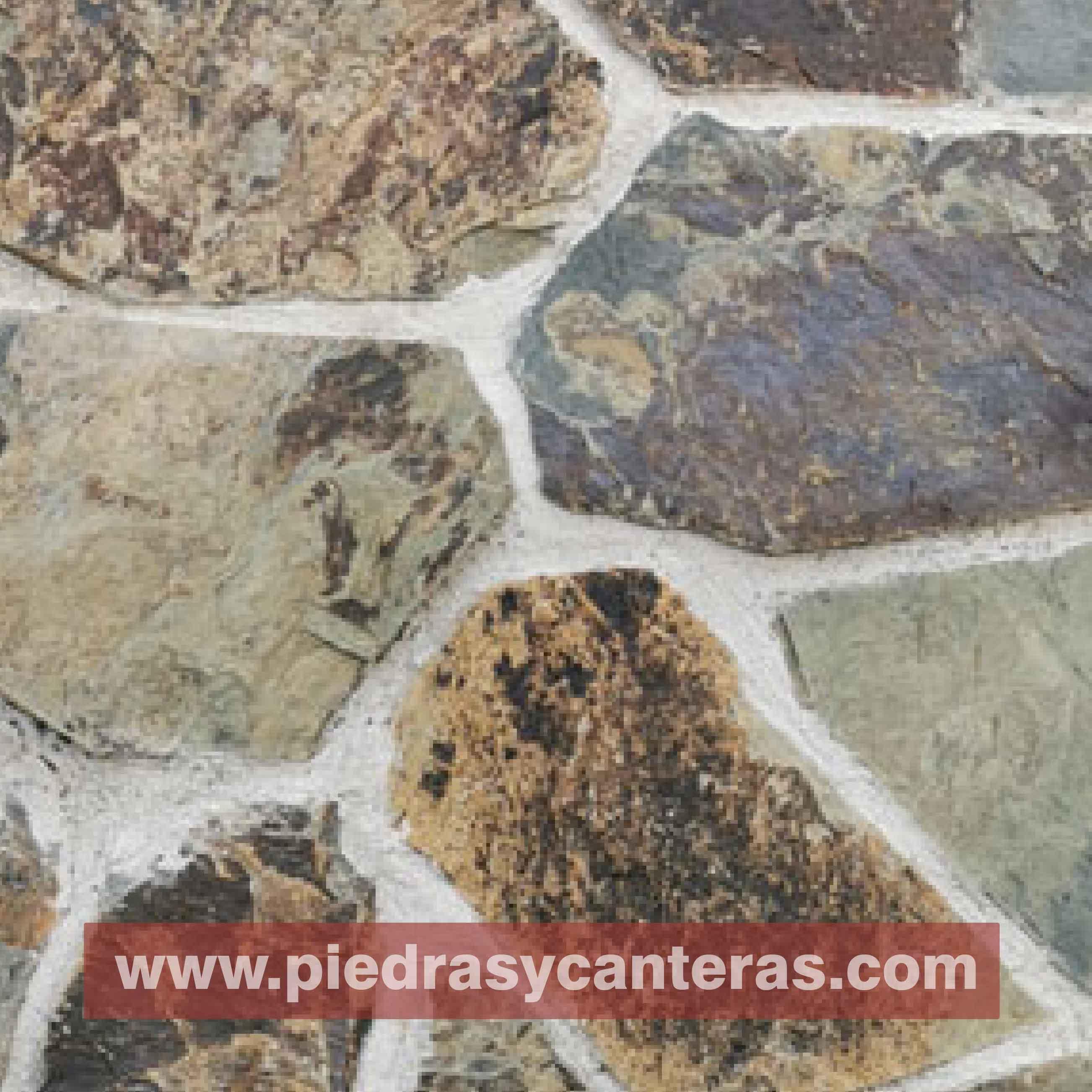 Piedra laja verde mixteca