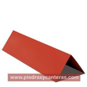 Cumbrera Lamina tipo teja – Adler Rojo